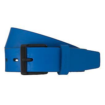 Paski męskie pasy Strellson skórzany pas niebieski 5955
