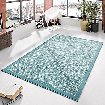 Azulejo de la alfombra de velour diseño crema de Blau | 102423