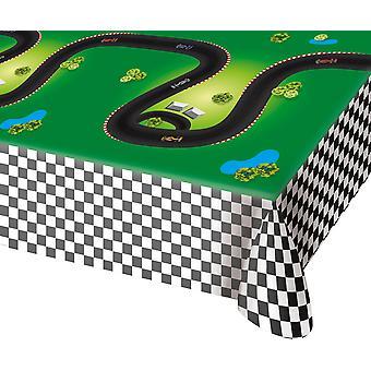 Tischdecke Tablecloth Tischtuch Formel Eins Kinderparty 130x180cm