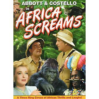 Africa Screams Movie Poster (11 x 17)