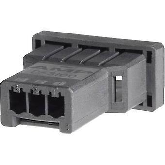 Caja de TE conectividad Pin - cable dinámico 3000 serie número de espaciamiento de pernos 5 contacto: 3,81 mm 1-177648-5 1 PC