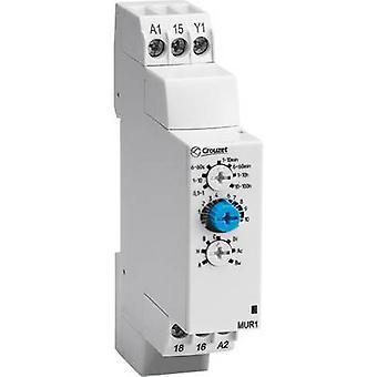 Crouzet MXR1 TDR multifunción 1 PC ATT. FX. RANGO de tiempo: 0,1 s - 100 h 1 paso