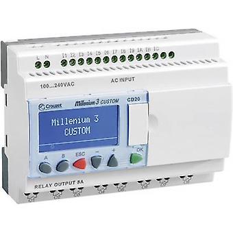 Regulador del PLC Crouzet Millenium 3 Smart CD20 R 88974051 24 Vdc