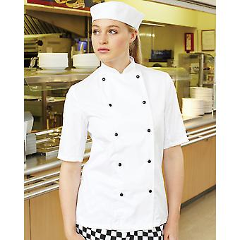 Dennys Lightweight Short Sleeve Chefs Jacket - DD20S