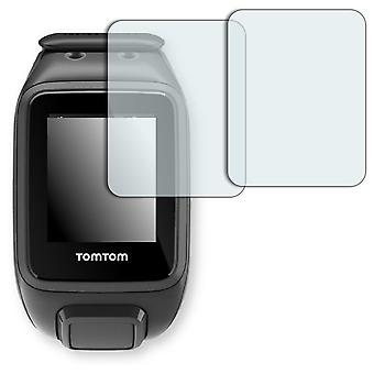 TomTom runner 2 screen protector - Golebo crystal clear protection film