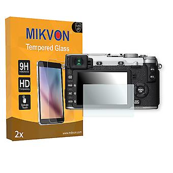 Fujifilm X-E2S Screen Protector - Mikvon flexible Tempered Glass 9H (Retail Package with accessories)