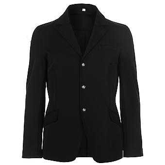 John Whitaker Mens Show Jacket Competition Coat Top Lightweight Zip Stretch