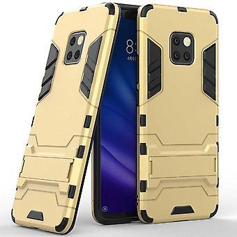 For Huawei mate 20 Pro metal udendørs stil guld taske case cover beskyttende sag