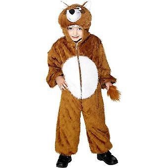 Fox Costume, Medium.  Medium Age 7-9