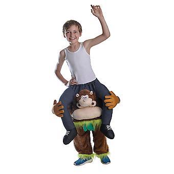Piggy Back Monkey Costume Childs
