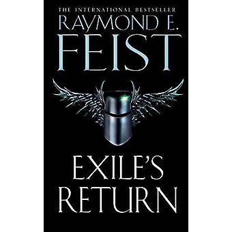 Exile's Return by Raymond E. Feist - 9780006483595 Book