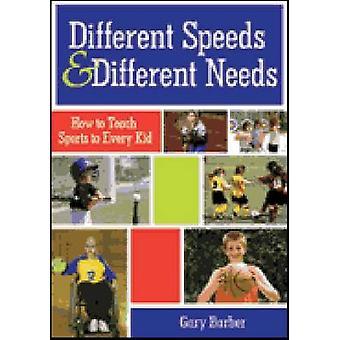 Des vitesses différentes et des besoins différents - comment enseigner les Sports pour tous Ki