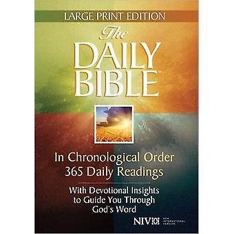 The Daily Bible (Large type edition) by F. LaGard Smith - 97807369585