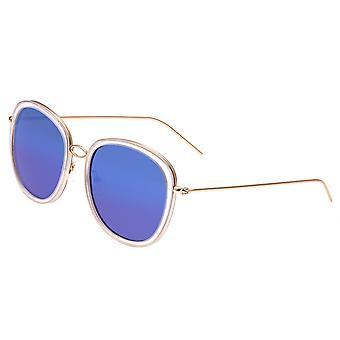 Bertha Scarlett polarizzata occhiali da sole - Rose oro/blu