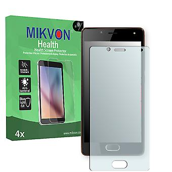 Wiko U Feel Lite Screen Protector - Mikvon Health (Retail Package with accessories)