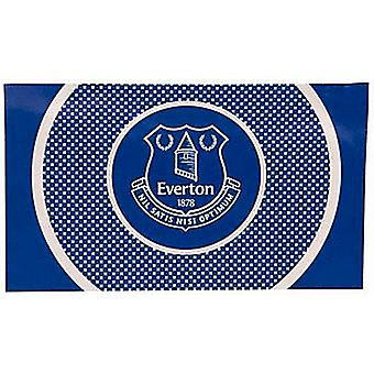 Everton FC Bullseye flaga (1500 mm x 900 mm) (bb)