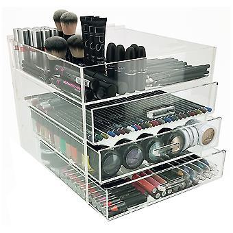 OnDisplay 4 Tier Acrylic Cosmetic/Makeup Organizer