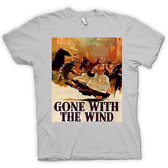 Heren T-shirt-Gone With The Wind - klassieke film