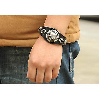 Harley Davidson Leather Cuff Bracelet