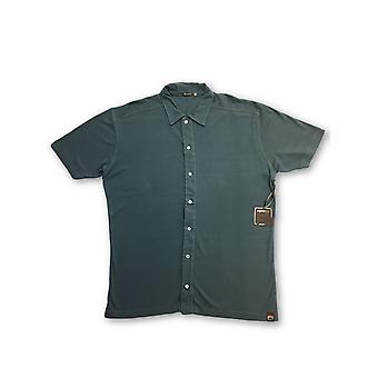 Agave Lux Walnut polo in blue