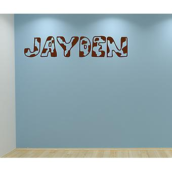 Army Camouflage Any Name Personalised Wall Sticker Door Decal Kids Bedroom Boys Girls