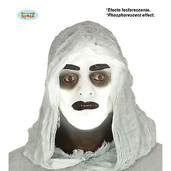 Guirca Pvc masque Transparent homme Fluorescent (bébés et enfants, Costumes)