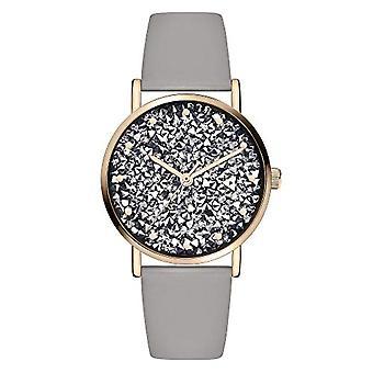 s.Oliver Quartz Women's Analog Clock with SO-3821-LQ Leather Belt