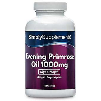 Evening-primrose-oil-1000mg - 180 Capsules
