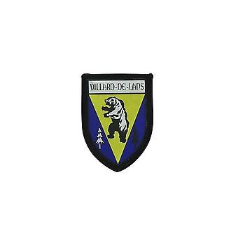 Ecusson Brode Thermocollant Imprime Blason Patch Departement  Villard De Lans