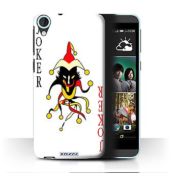 STUFF4 Case/Cover for HTC Desire 820q Dual/Joker/Playing Cards
