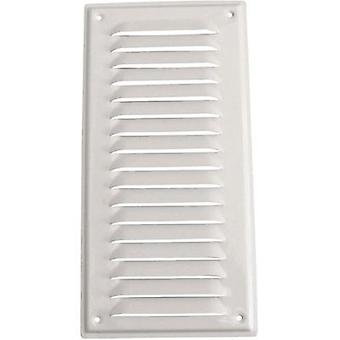 WallairVentilation technology Grille aluminium, coated white White