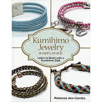 Kalmbach Publishing Books-Kumihimo Jewelry Simplified KBP-02271