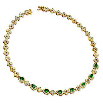 Kennedy Replica swarovski Crystal Emerald Necklace