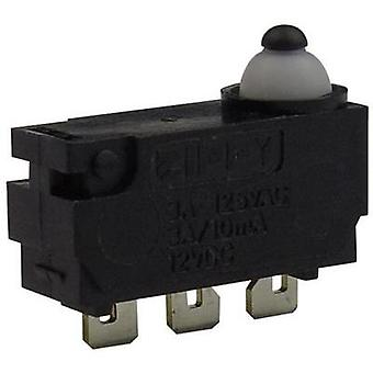 Microswitch 12 Vdc 0.1 A 1 x On/(On) Zippy DW-N2S-00A0D-Z momentary 1 pc(s)