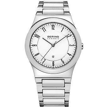 Bering Mens watch céramique mince de montre-bracelet - 32235-754