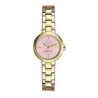 ESPRIT ladies watch bracelet watch April stainless steel gold ES107212005