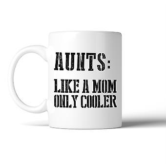 Tante Cooler dan mam mok kerst idee van de verjaardagsgift voor tante