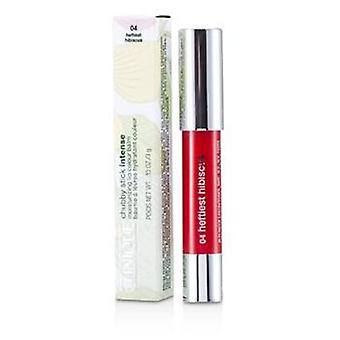Clinique Chubby Stick Intense Moisturizing Lip Colour Balm - No. 4 Heftiest Hibiscus - 3g/0.1oz