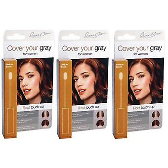 Cover Your Gray Root Touch-Up Light Brown/Blonde x 3