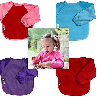 Silly Billyz Long Sleeve Fleece Bib Baby Toddler Feeding Bibs