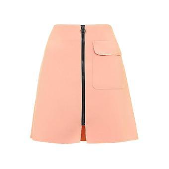 Получить вид патч кармане Трапеция юбка