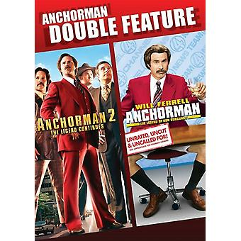 Presentador / import de USA de Anchorman 2 [DVD]