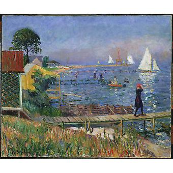 William Glackens - Bathers at Bellport Poster Print Giclee