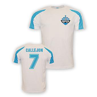 Jose Callejon Napoli Sports Training Jersey (white) - Kids