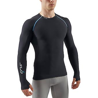 Sub Sports Mens Thermal Long Sleeve Crew Neck Top Base Layer Vest Brushed Inner