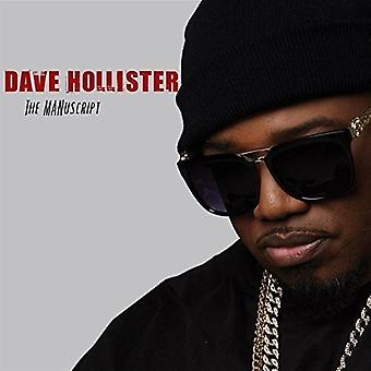 Dave Hollister - Manuscript [CD] USA import