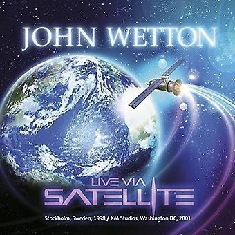 John Wetton - Live über Satellit [CD] USA import