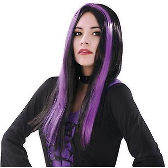 My Other Me Wig Black Witch And Residence (Costumes)