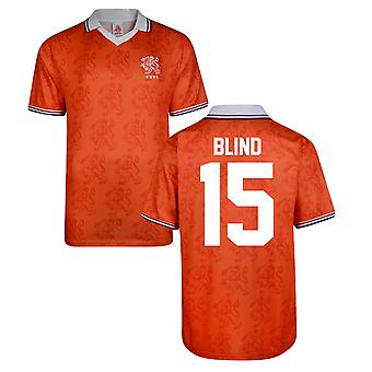 Score Draw Holland World Cup 1994 Home Shirt (Blind 15)