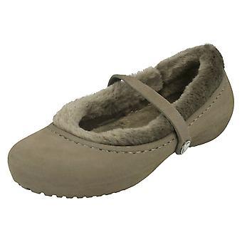 Girls Crocs Faux Fur Casual Shoes Nanook Girls